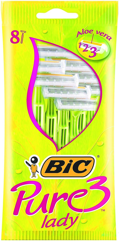 BIC Pure 3 Lady Razors 8 Pack 845888