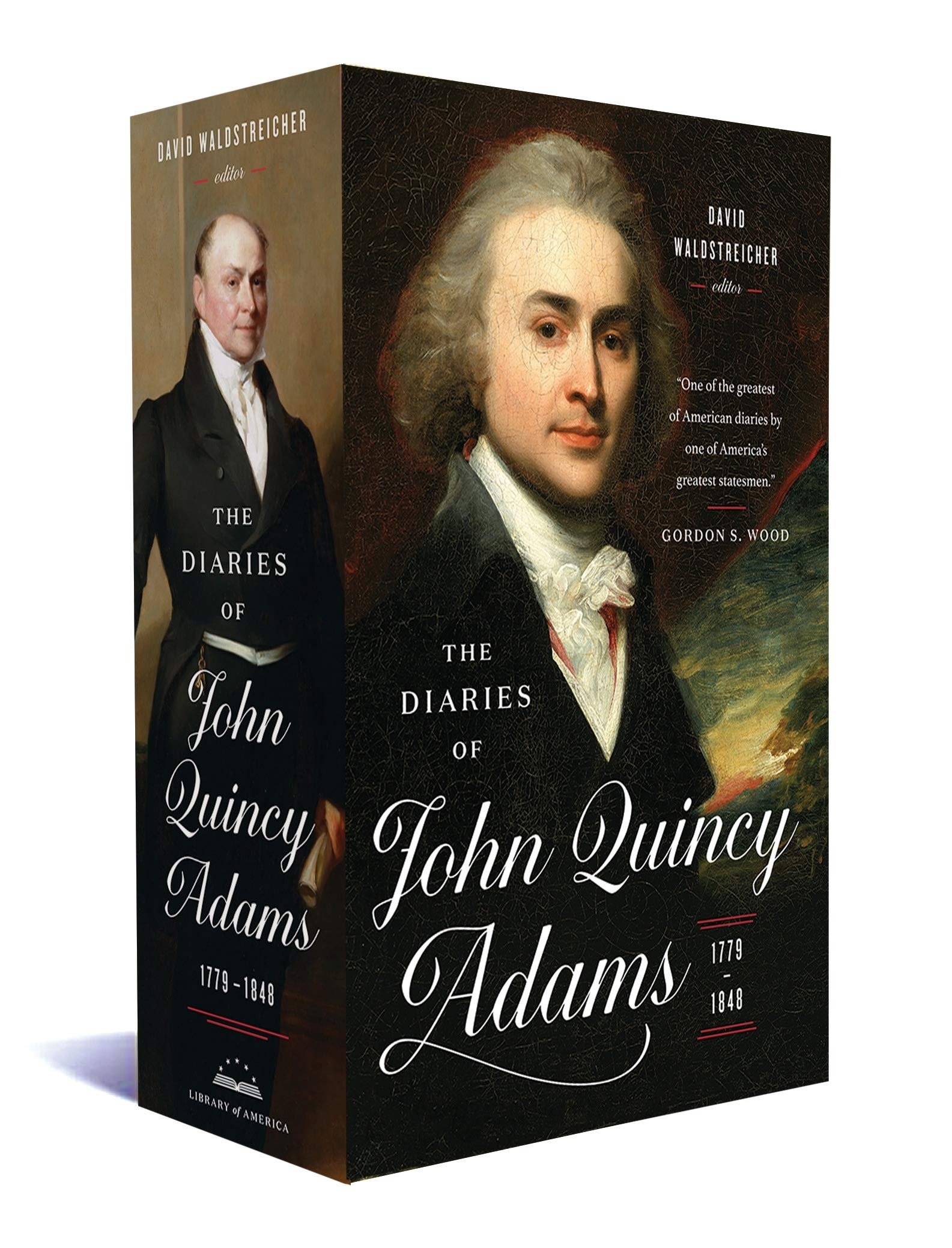 The Diaries of John Quincy Adams 1779-1848: A Library of America Boxed Set by Library of America