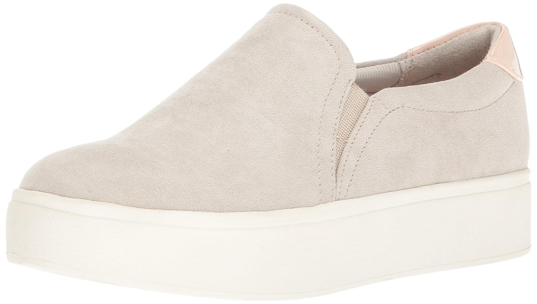 Dr. Scholl's Shoes Women's Kinney Fashion Sneaker B074N8XZT7 8 B(M) US|Greige Microfiber