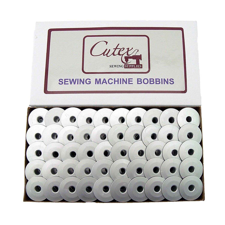 Cutex Brand 100 M-Class Lightweight Bobbins TM Grace Brother Handi Quilter Longarm