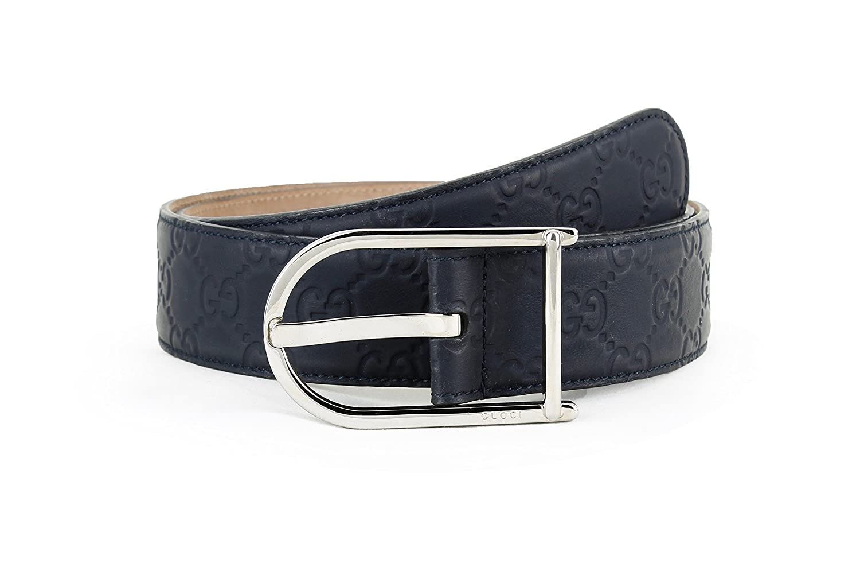 88eba9a2177 Amazon.com  Gucci Guccissima Rubberized Calfskin Leather Belt