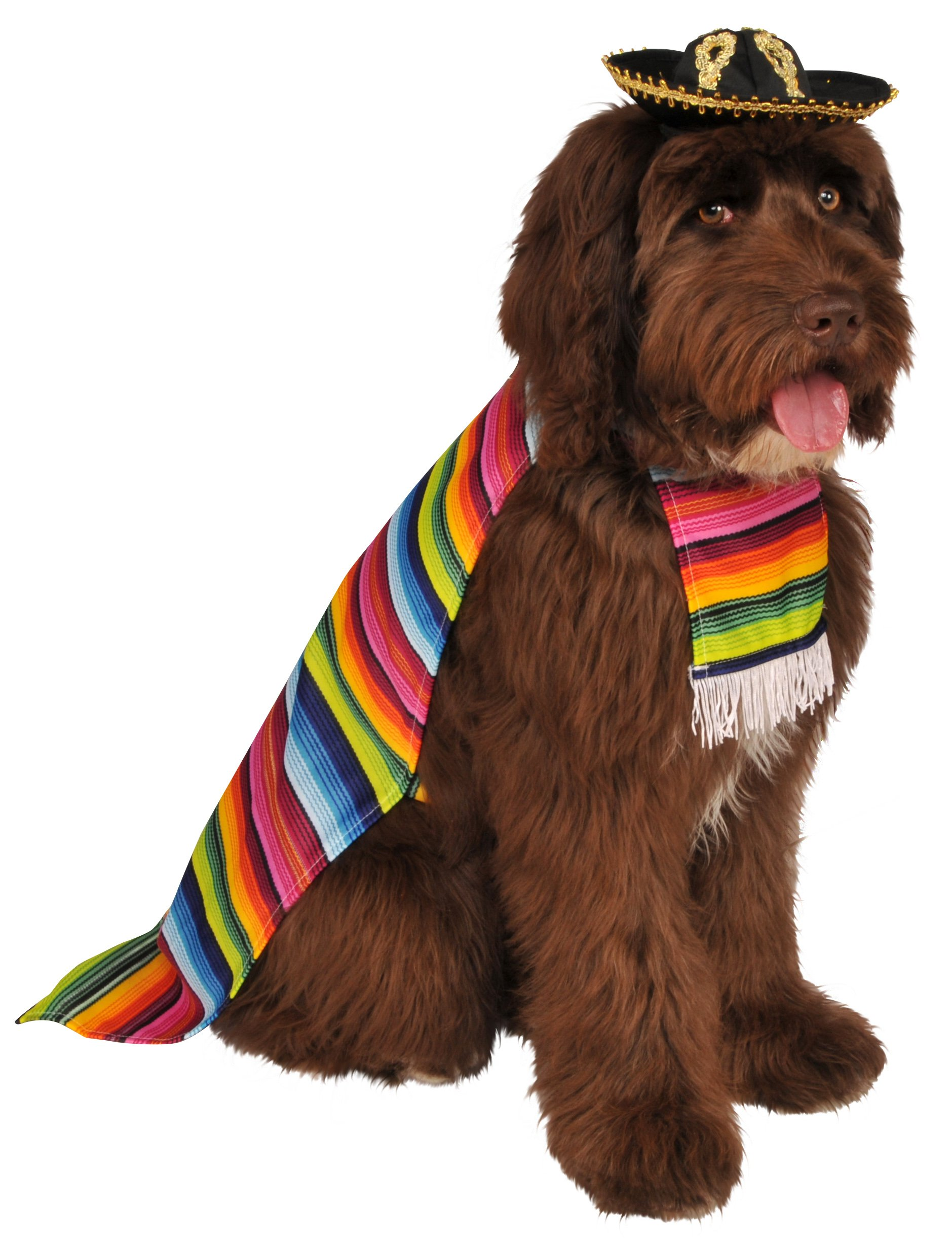 Rubie's Pet Costume, Large, Mexican Serape by Rubie's (Image #1)