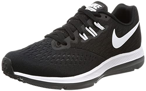 552e0e209 Nike Women's Zoom Winflo 4 Black/White Dark Grey Running Shoe 10 Women US:  Amazon.ca: Shoes & Handbags