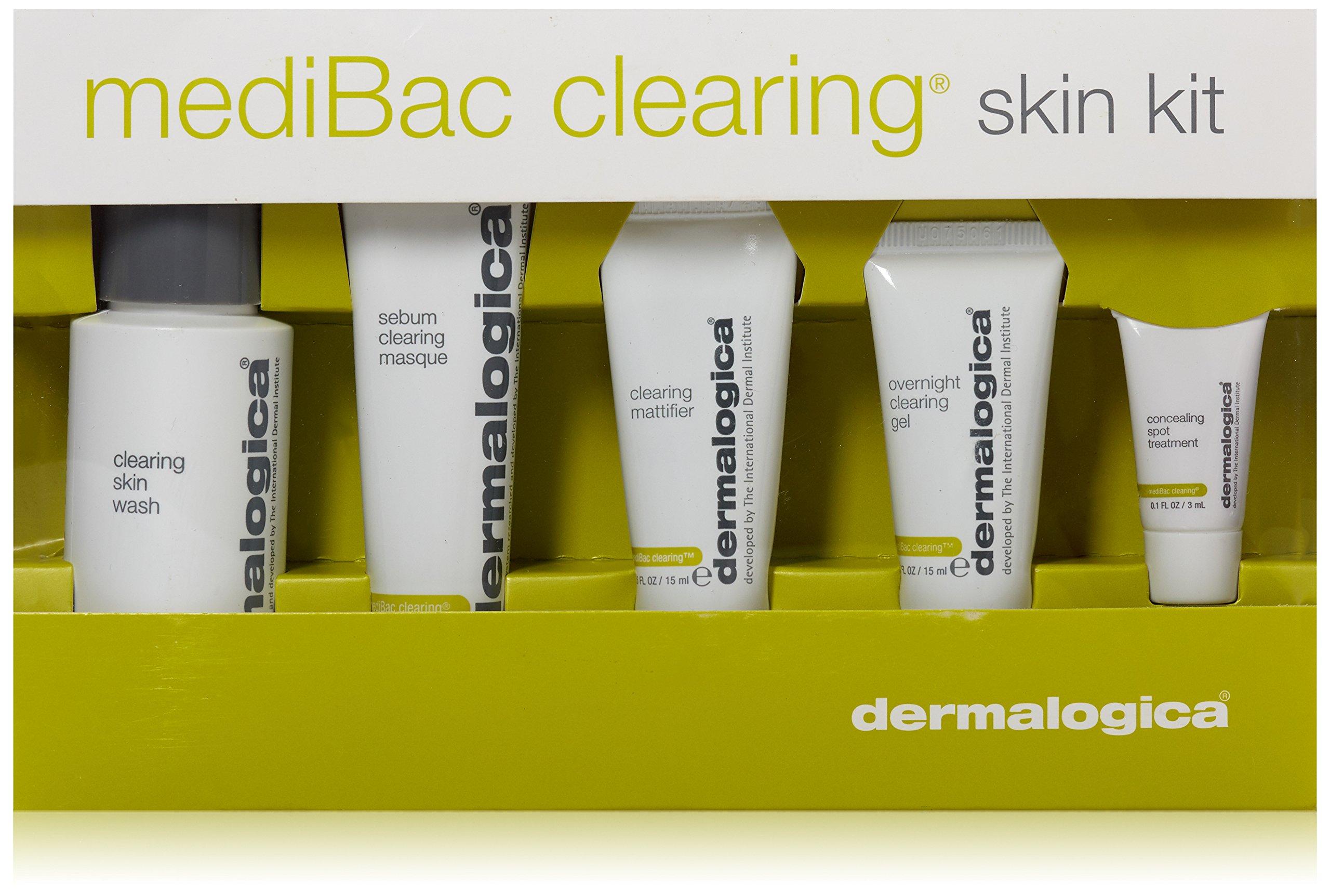 Dermalogica Medibac Clearing Skin Treatment Kit-5 Piece
