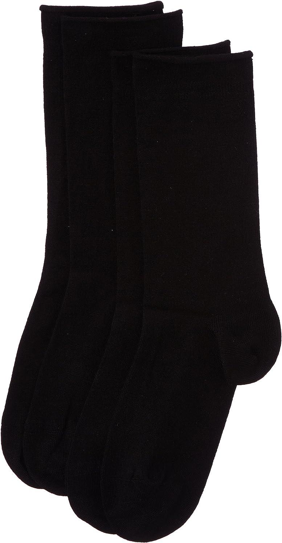 Dim Algodón Modal Calcetines (Pack de 2) para Mujer