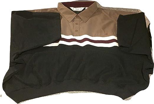Amazon.com: Short Sleeve Big and Tall Banded Bottom Polo Shirts ...