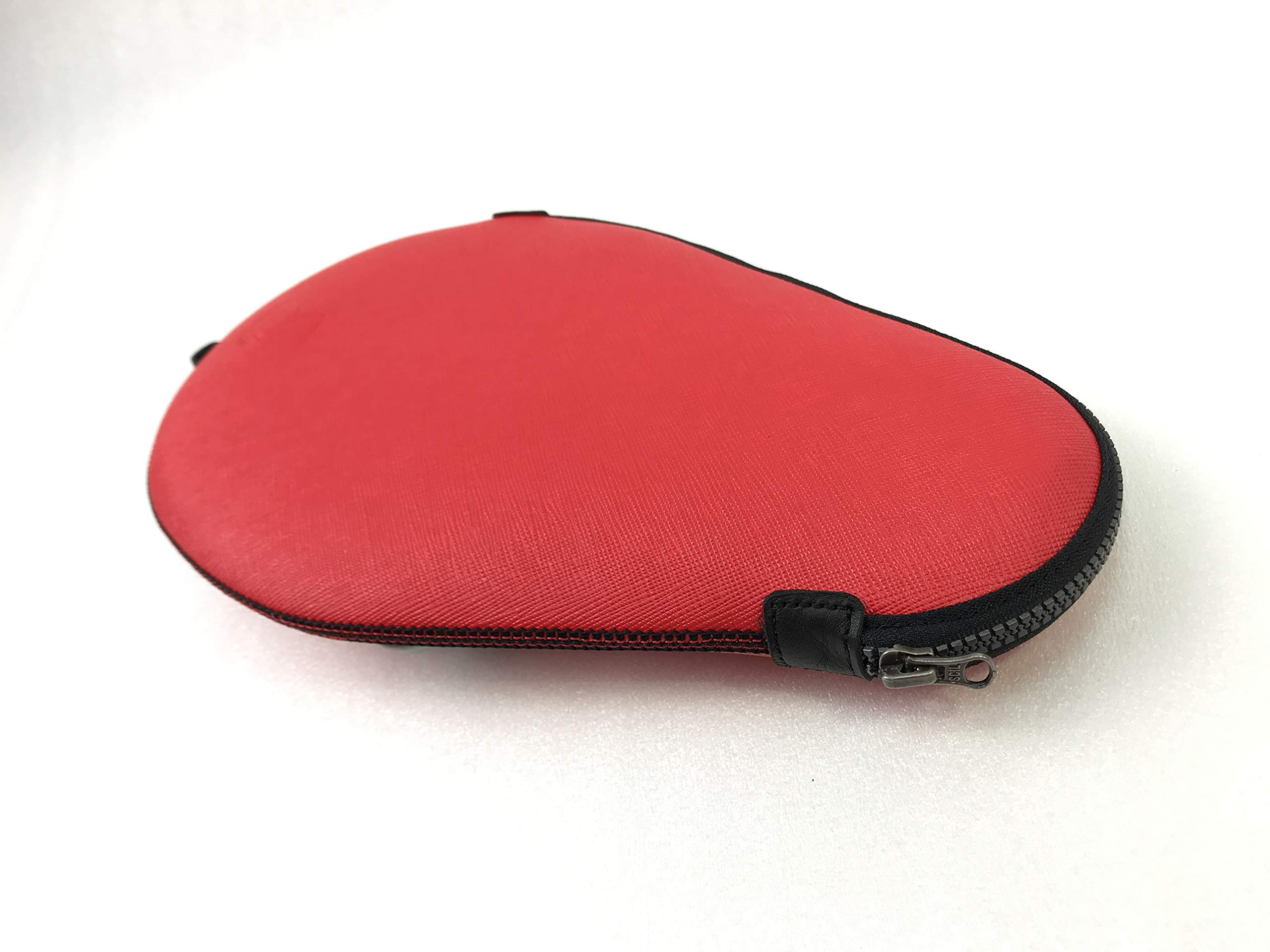 ONEJOY Ping Pong, Table Tennis Racquet Bag,Case,Cover with Zipper AJ61,Loop to Hook, Full Cover 28cm x 17cm for 1 Racquet/Racket/Paddle. by ONEJOY (Image #4)