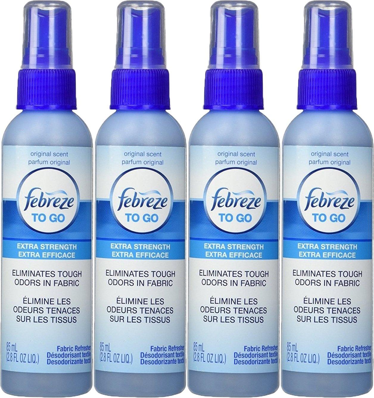 Febreze To-Go Fabric Refresher 2.8 oz, 4 Pack