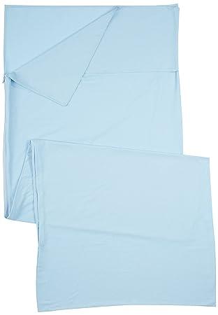 Ferrino Comfort Liner SQ Saco de Dormir Tiempo Libre y Senderismo Unisex Adulto, Azul (Azzuro), Talla Única: Amazon.es: Deportes y aire libre