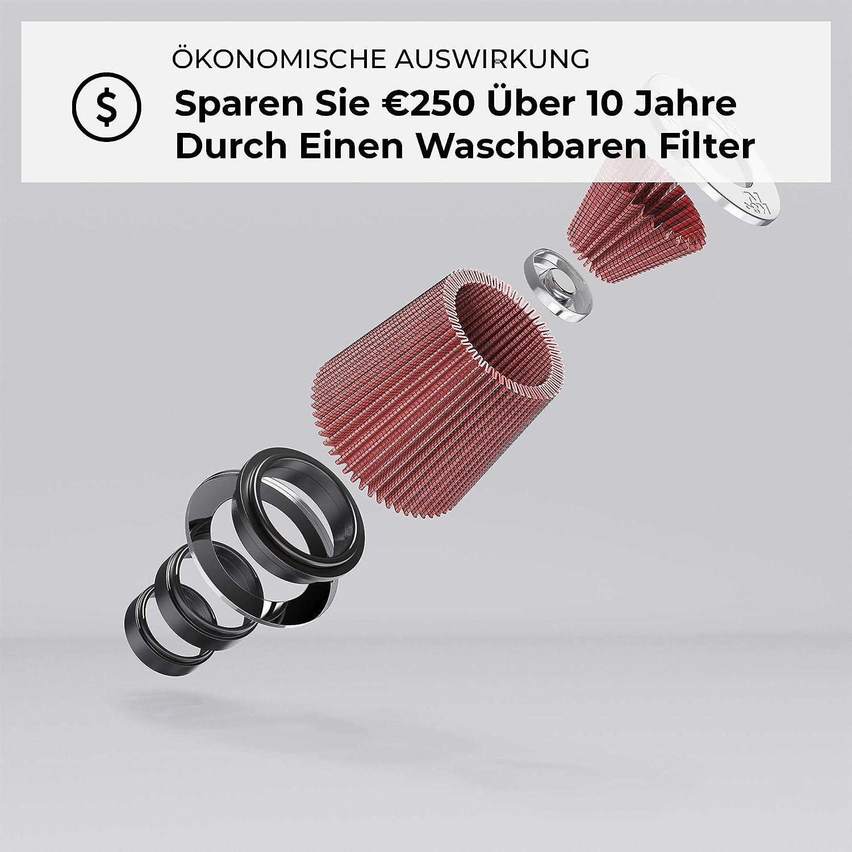 K/&N E-3750 Waschbarer und wiederverwendbarer KFZ Luftfilter//Direkt-Kits