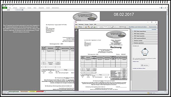 Rechnungsprogramm Rechnungssoftware Mit City Tax Und Kurtaxe Für