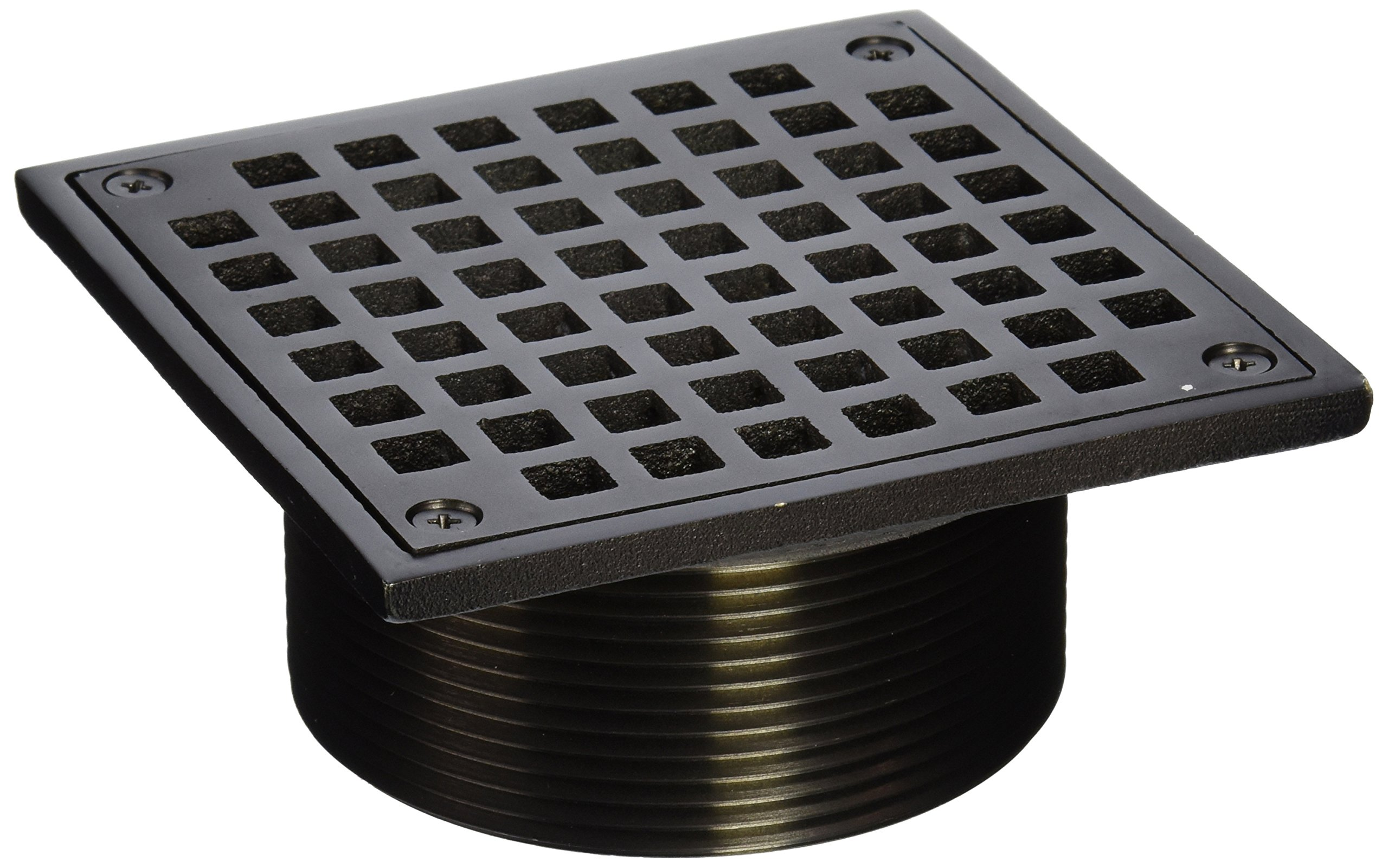 Jones Stephens D6096RB 3-1/2 X 5-Inch Oil Rubbed Bronze Square Spud Strainer