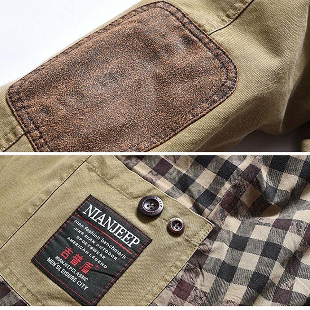 Mens Blazer Business Suit Casual Fashion Cotton Blazer Coat Jackets
