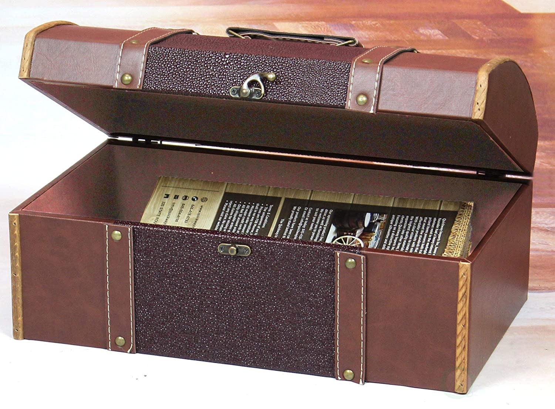TM Vintiquewise Family Room Magazine Treasure Chest Quickway Imports Inc QI003018-25.L