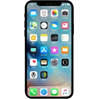 Apple iPhone X, 64GB, Silver - For AT&T (Renewed)