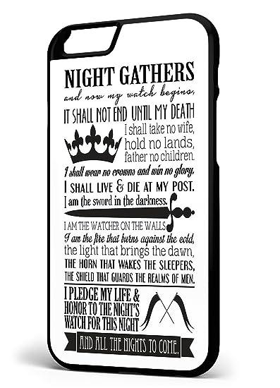 De Juego de Tronos la Nights reloj juramento (iPhone 6/6S 11 ...