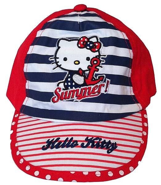 8276783ad1c5e hello kitty basecap mtze baseball cap kinder kappe schirmmtze baby kppi rot  amazonde bekleidung with basecap kinder