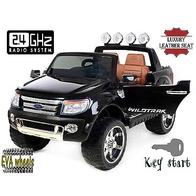 De Luxe Ford Ranger Électrique Enfant Pour Jouet Voiture Wildtrak QrEWoxedCB
