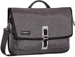 TIMBUK2 Transit Laptop Briefcase, Jet Black Static