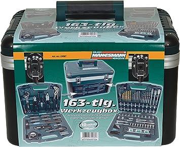 Brüder mannesmann werkzeuge M29087 - Caja de herramientas, 163 piezas: Amazon.es: Bricolaje y herramientas