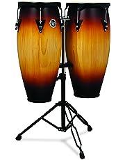 "Latin Percussion City Wood Congas 10"" & 11"" Set - Vintage Sunburst"