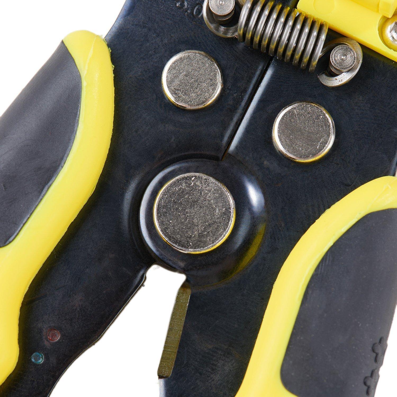 Asvert gelbe Strippers automatische Kabel-Abisolierzange Crimp ...