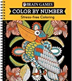 Brain Games® Color by Number: Stress-Free Coloring (Orange)