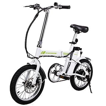 ancheer bicicleta eléctrica, 16 pulgadas E-Bike bicicleta plegable para, 36 V 6