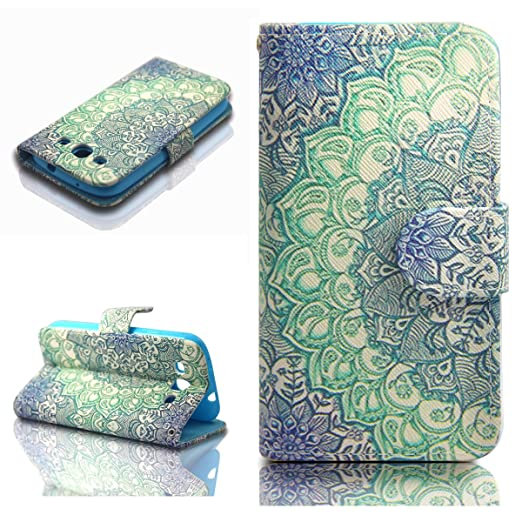 397 opinioni per Dokpav® Custodia per cellulare di cuoio, modello Samsung Galaxy S3