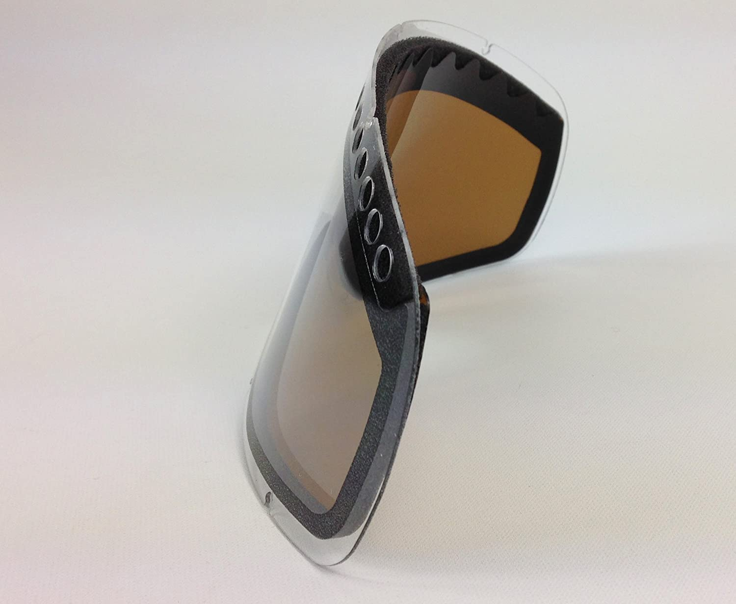 926b7222a70 Replacement Oakley O-Frame Dual Vented Dark Smoke Tinted Snow Lens   Amazon.co.uk  Sports   Outdoors