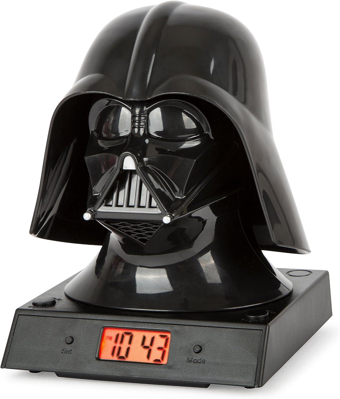 Star Wars Reloj Despertador, Noir: Amazon.es: Hogar