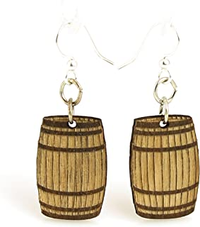 product image for Wine Barrel Earrings