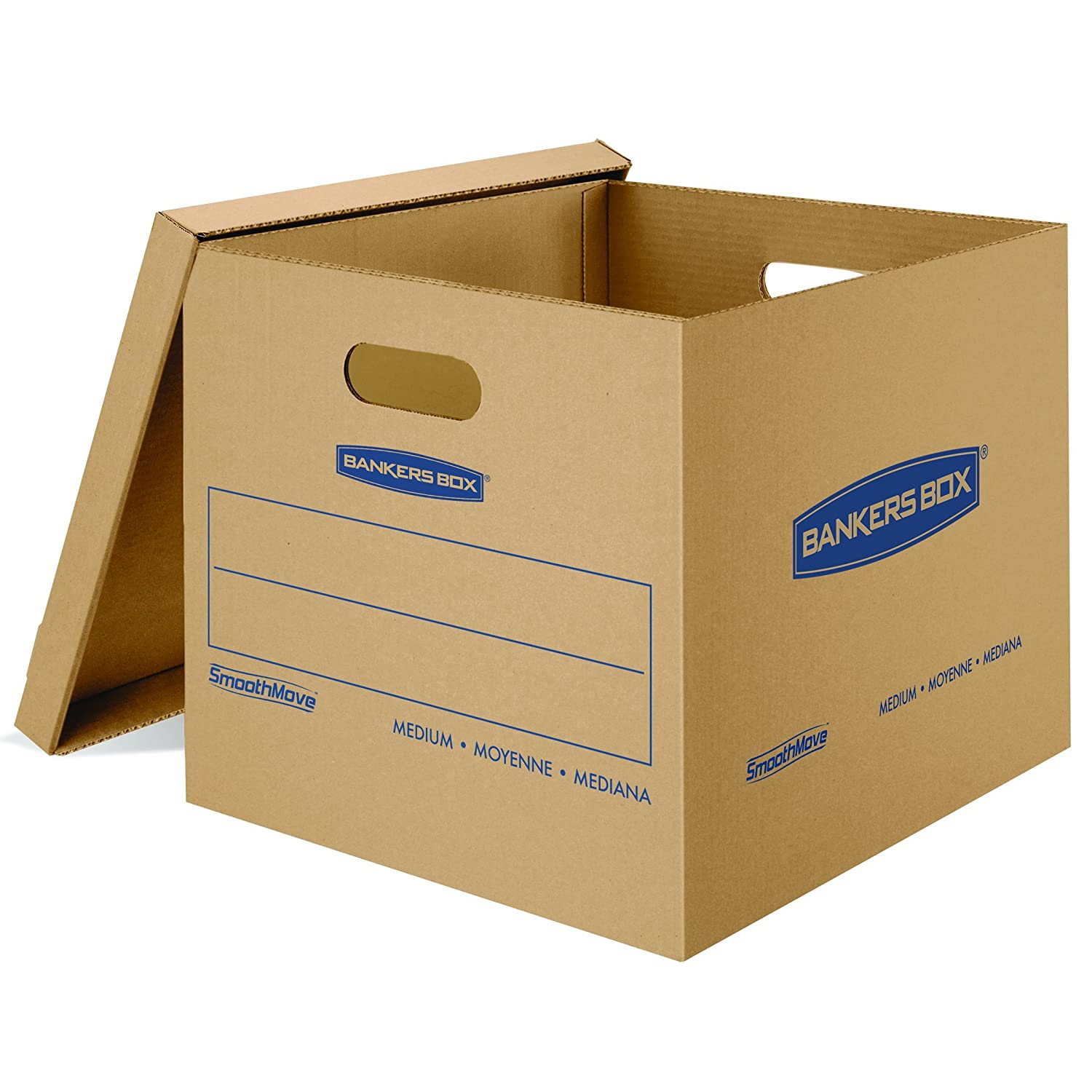 amazon com bankers box smoothmove classic moving boxes tape free
