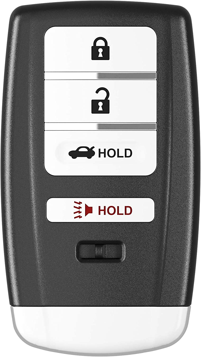 X AUTOHAUX Replacement Keyless Entry 4 Button Remote Car Key Fob 313.8Mhz KR5V1X for Acura MDX RDX