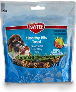 Kaytee Healthy Bits Rabbit, Guinea Pig And Chinchilla Treat,4.5 oz