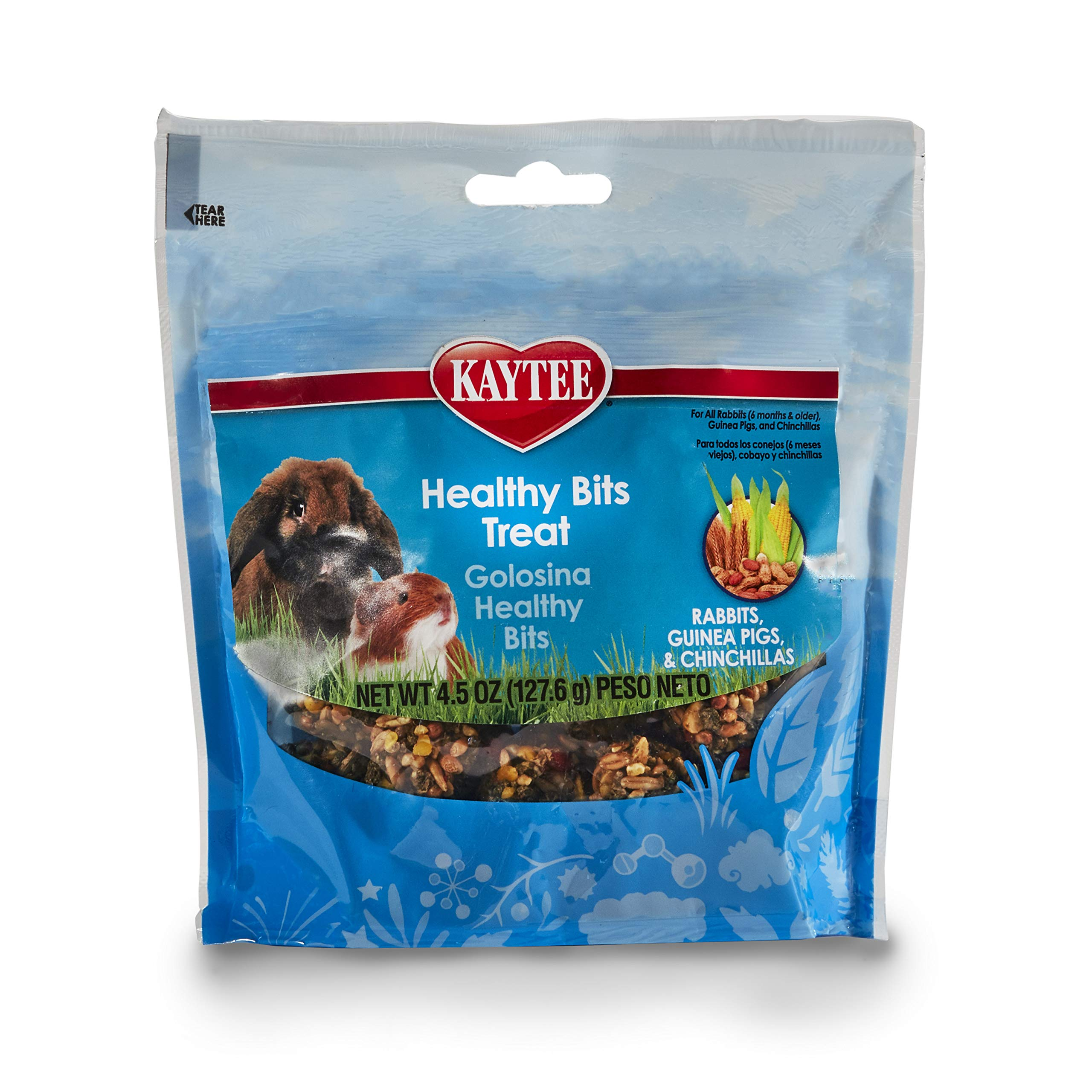 Kaytee Healthy Bits Rabbit, Guinea Pig And Chinchilla Treat,4.5 oz