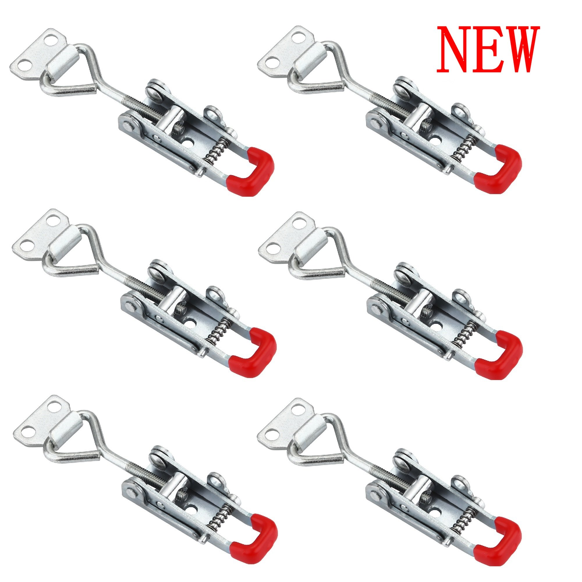 Anndason The Latest Adjustable Self-locking Buckle Toggle Latch Clamp 4012 (6PCS) (Style 4012) by Anndason