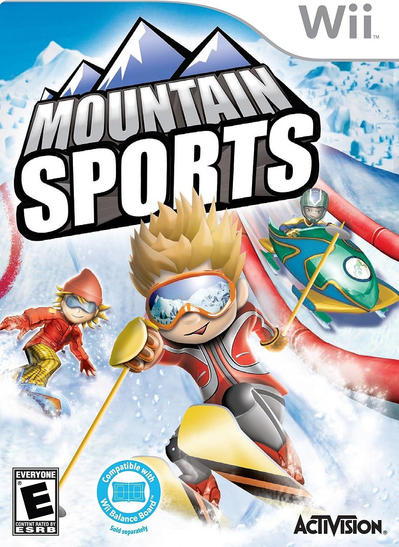 amazon com mountain sports nintendo wii video games
