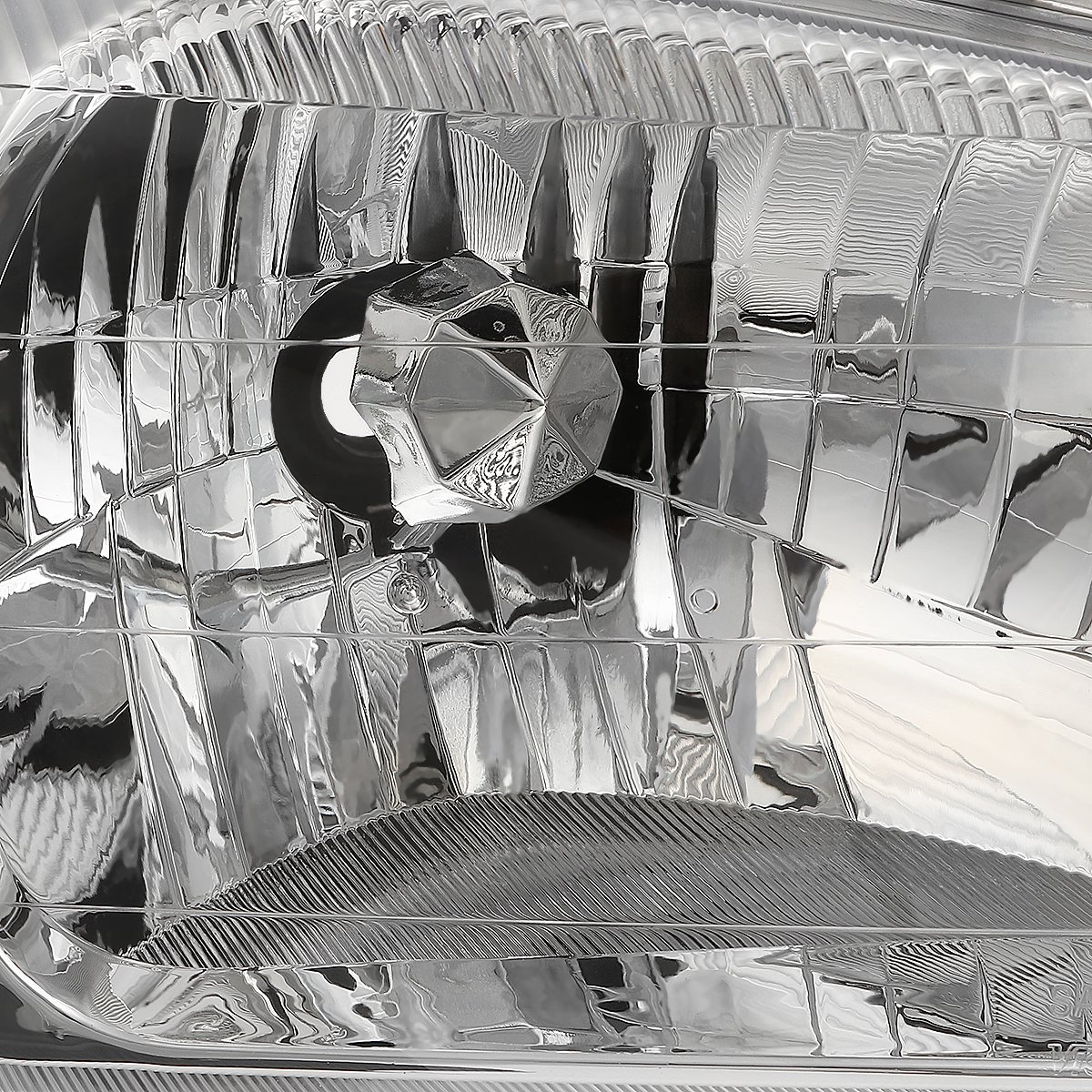 DNA Motoring HL-OH-049-CH-AM Headlight Driver /& Passenger Side