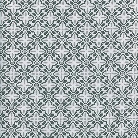 Tela DELTA (gris antracita, gris claro & blanco) - 100% algodón ...