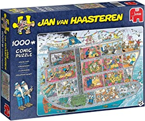 Jumbo 20021 Jan Van Haasteren - Cruise Ship 1000 Piece Jigsaw Puzzle
