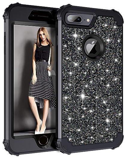iphone 8 black glitter case