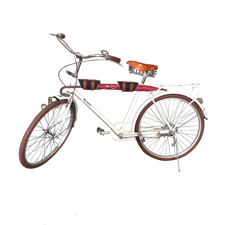 Tourbon Leinwand und Leder Tasche Bike Tasche Vorne Fahrrad Rahmen ...