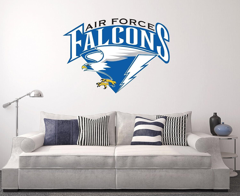 West Mountain Air Force Falcons Wall Decal Home Decor Art College Football Team Sticker