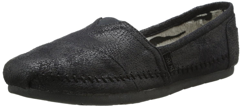 Sacudidas De Luxe Skechers Moda Resbalón-en Flat 36.5 EU|Black Suede