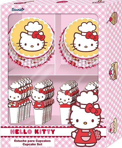 Stor 77951 - Estuche para cupcakes, diseño Hello Kitty