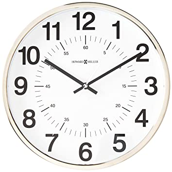 Amazon Com Howard Miller 625 207 Easton Wall Clock By Home Kitchen