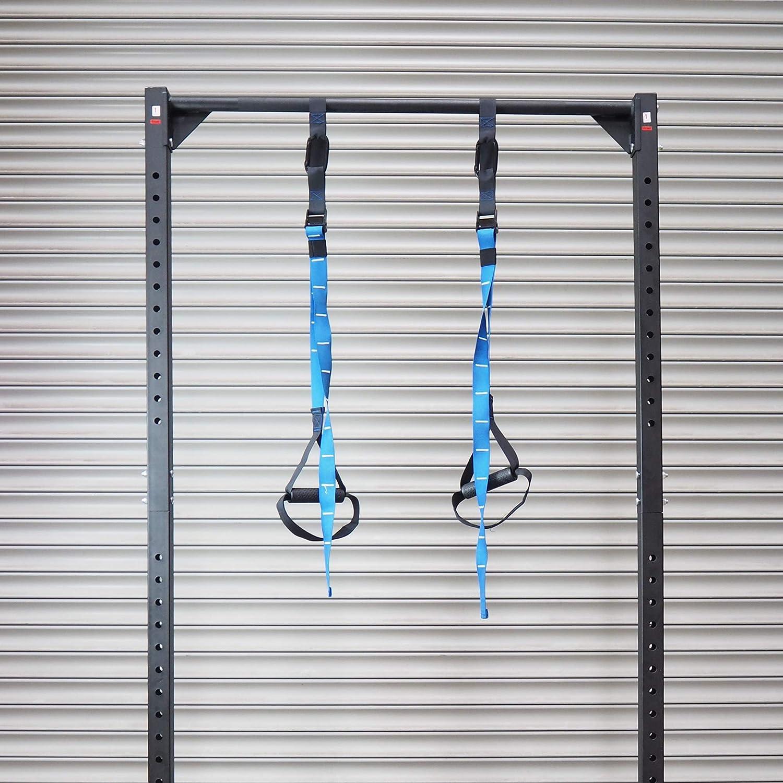 PROTONE® Sistema de Entrenamiento de Correa de suspensión – Peso Corporal Fuerza y Fitness Entrenamiento – Home Gym – Fitness