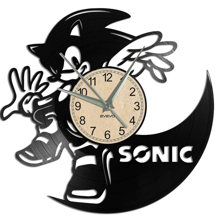 EVEVO Sonic Reloj De Pared Vintage Accesorios De Decoración ...