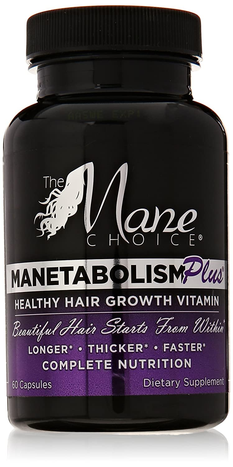 Mane Choice Manetabolism Plus Hair Growth Vitamins